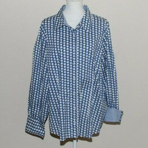 TOMMY HILFIGER  Blouse 22 Button Down 22W